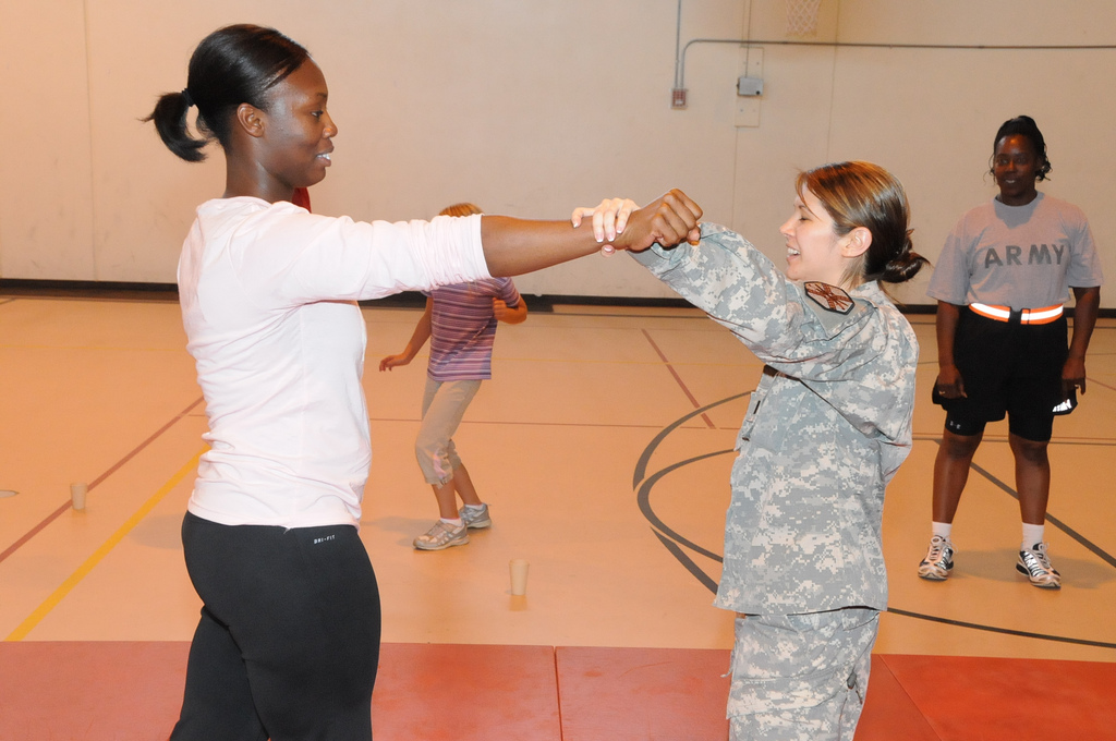 self defense class for women